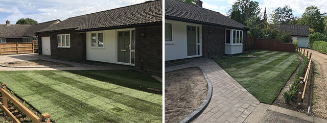 artificial grass - turf installation and laying