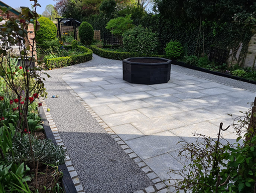 Patio Garden design - Landscaping Cambridge