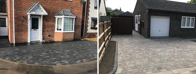 Block paving - landscaping company Cambridge