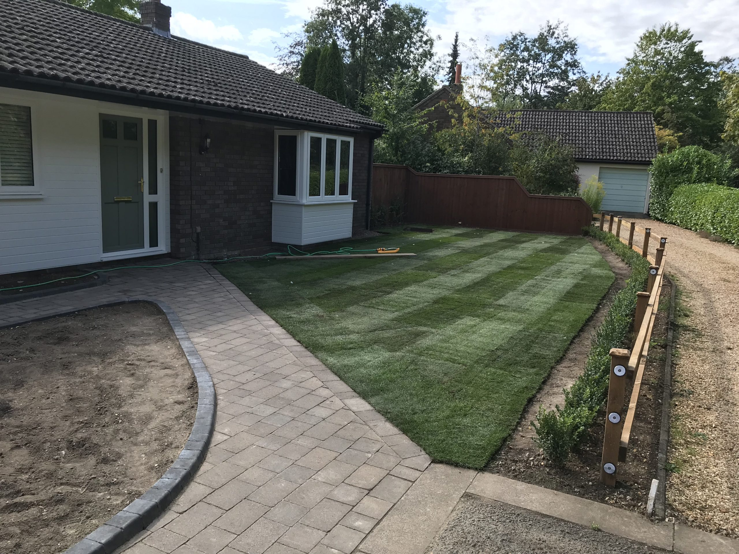 Turf and Lawn laying services Cambridge