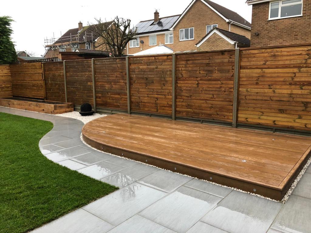 Landscaping Cambridge - Millboard decking