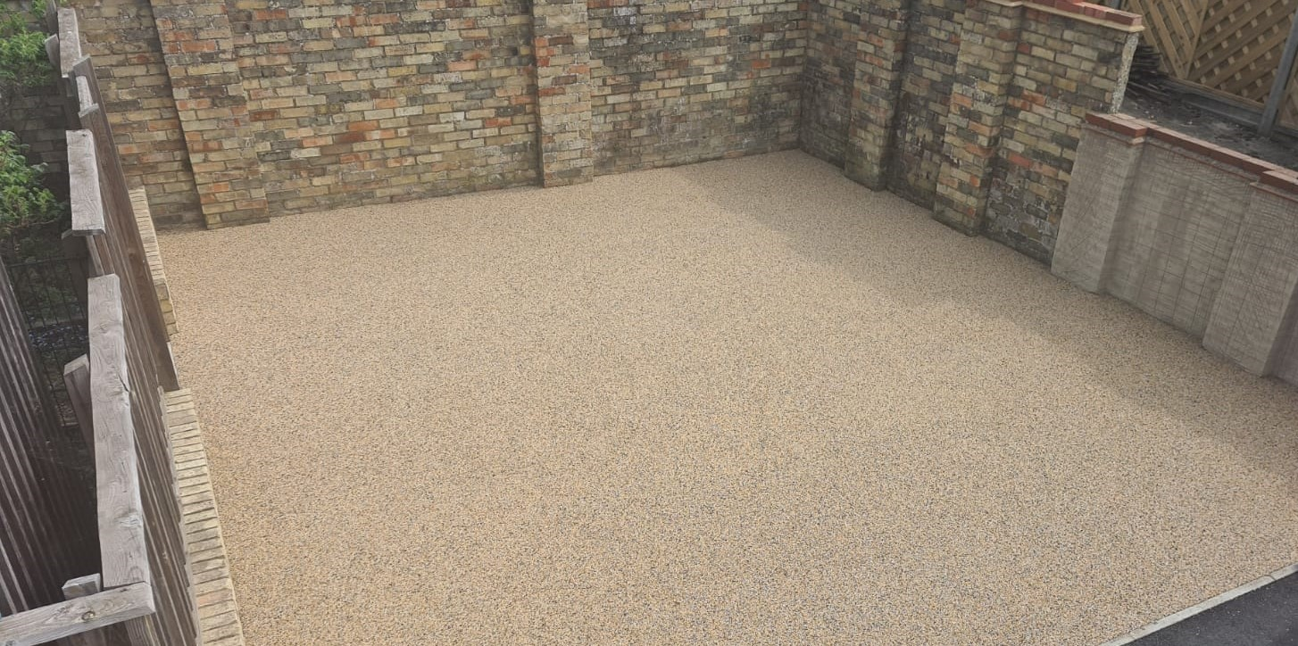 Resin Bound Gravel Driveway Project in Cambridge